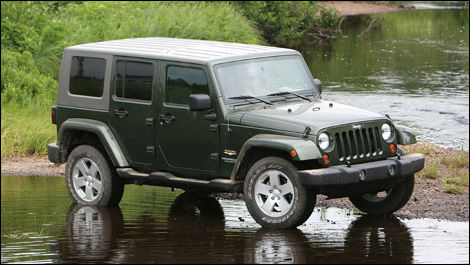 2007 Jeep Wrangler Unlimited Sahara Road Test