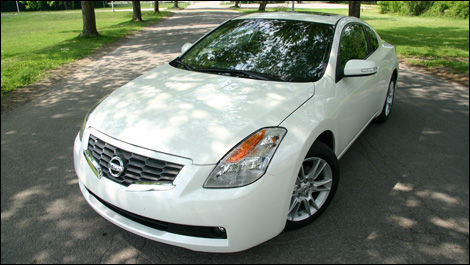 According To Nissan, The Altima Coupe Is Everything But A Sedan With Two  Doors Missing.