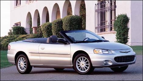 2006 chrysler sebring convertible models