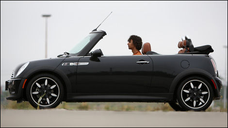 2007 Mini Cooper S Cabriolet Sidewalk Review Editors Review Car