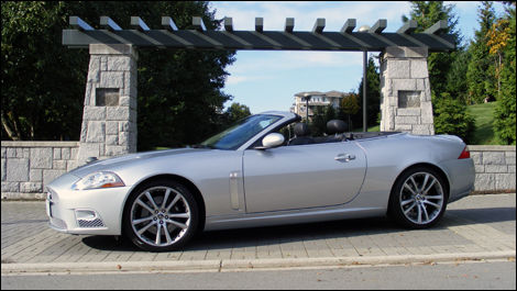 The XKR Has A Certain Similarity With Aston Martin Products.