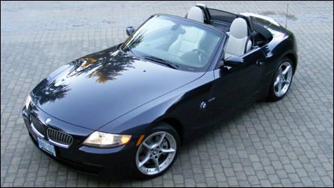 bmw z4 2007 essai essai routier actualit s automobile auto123. Black Bedroom Furniture Sets. Home Design Ideas