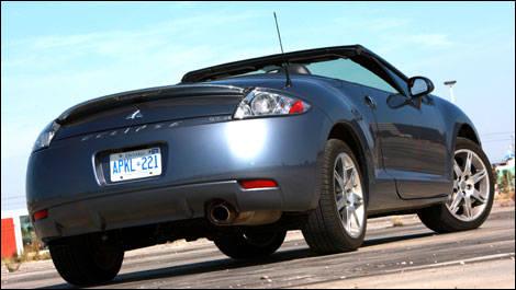 2008 Mitsubishi Eclipse Spyder GT P Road Test