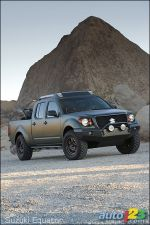 2009 Suzuki Equator pickup unveiled at Chicago Auto Show
