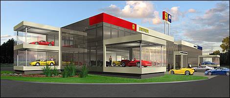 Ferrari dealership canada