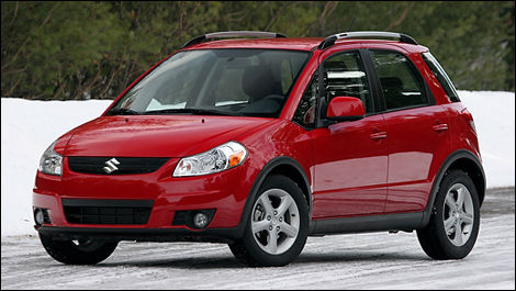 2008 Suzuki Sx4 Hatchback Jlx Awd Review