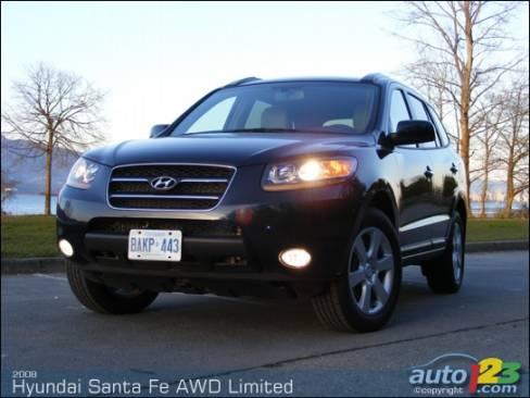 2008 Hyundai Santa Fe Awd Limited Review Editor S Review