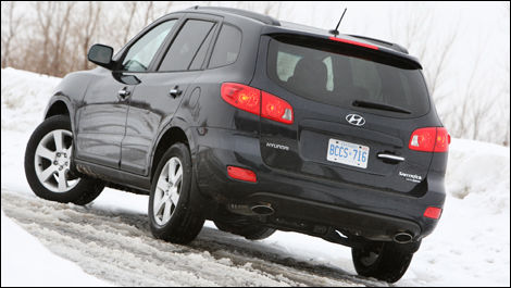 2008 Hyundai Santa Fe Limited Awd Review Editors Review Car