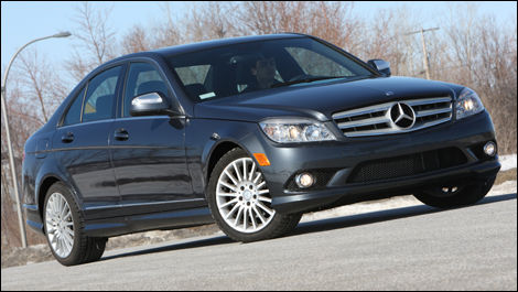 2008 mercedes benz c230 4matic review editor 39 s review. Black Bedroom Furniture Sets. Home Design Ideas