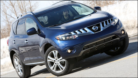 2009 nissan murano le awd review editor 39 s review car news auto123. Black Bedroom Furniture Sets. Home Design Ideas