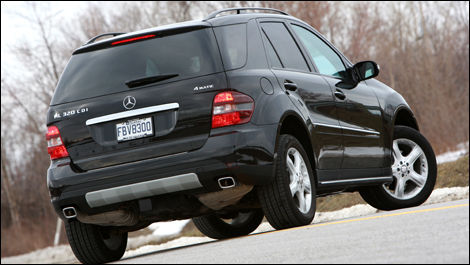 2008 Mercedes Benz Ml320 Cdi Review Editor S Review Car