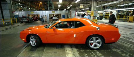 The New Dodge Challengers Start To Roll Off The Line Car News