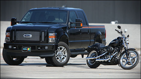 2008 Ford F-350 Harley-Davidson Review Editor's Review | Car Reviews