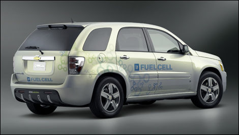 A Chevy Equinox fuel cell electric vehicle is put to the test by the