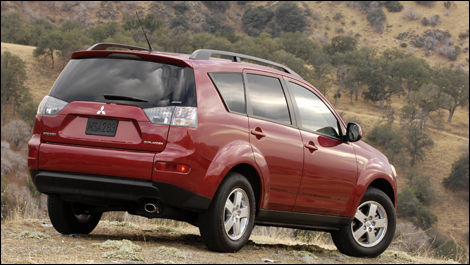 2008 Mitsubishi Outlander XLS 4WD Review Editor's Review