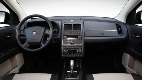 The Driving Position Is Good And Slanted Center Instrument Stack Well Within Reach