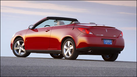 2008 Pontiac G6 Gt Convertible Review Editor S Review