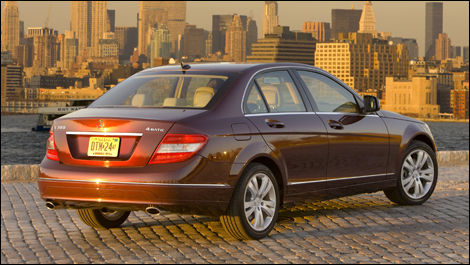 What Does Cts Stand For >> 2008 Mercedes-Benz C300 4MATIC Review Editor's Review ...