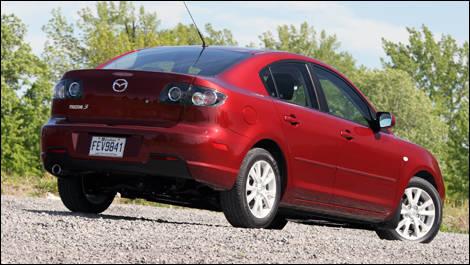Attractive 2008.5 Mazda3 GS Review