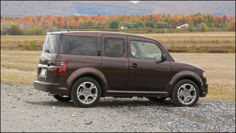 2008 honda element sc review editor 39 s review car news auto123. Black Bedroom Furniture Sets. Home Design Ideas