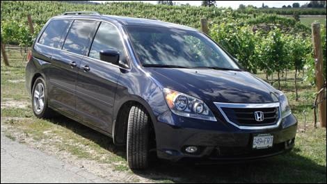 Wonderful 2008 Honda Odyssey Touring Review
