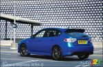 Three new Impreza WRX models are showcased at London's BIMS