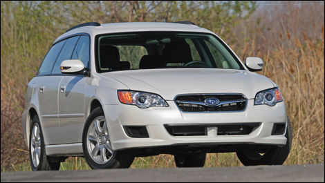 Without Being A Hybrid The 2009 Subaru Legacy Pzev Pollutes Less Than Standard