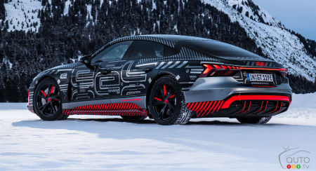 Audi e-tron GT concept, profile