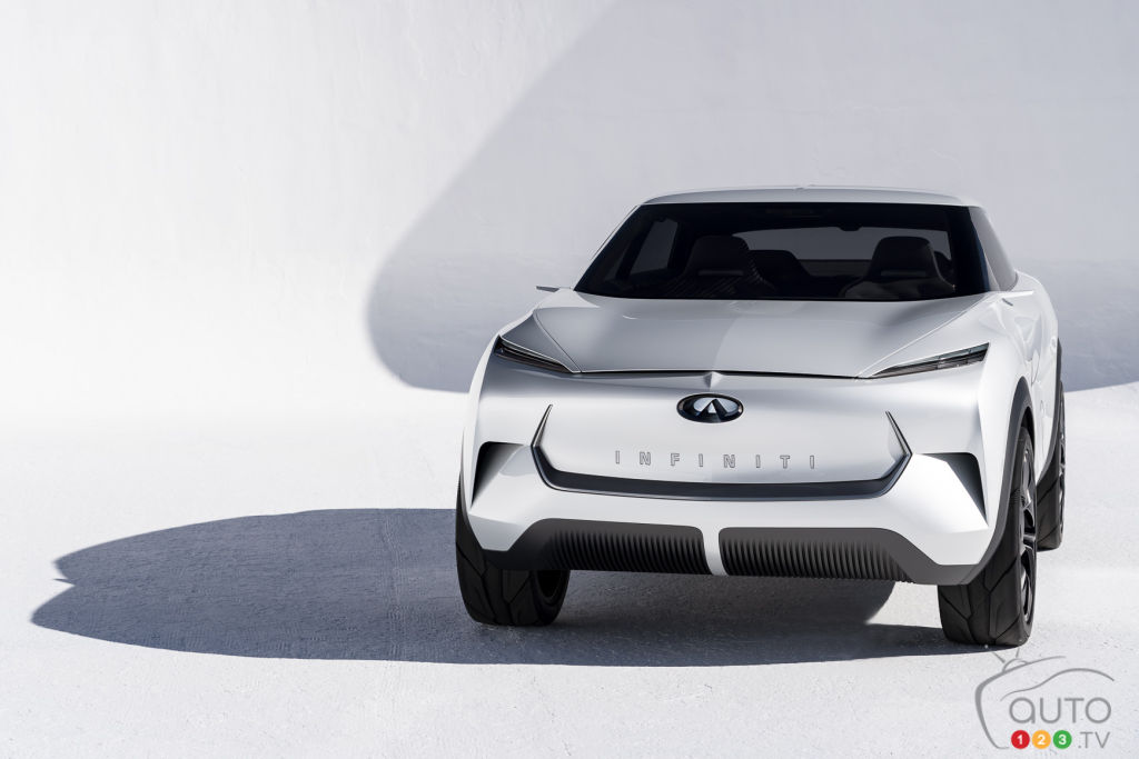 Infiniti EV (prototype  QX Inspiration), avant
