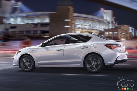 2019 Acura Ilx Gets Modernized Front End Upgraded Tech