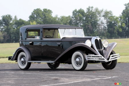 1934 Brewster, three-quuarters front