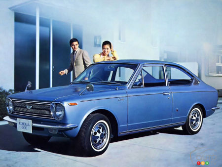 Toyota Corolla Sprinter (1966-1970)