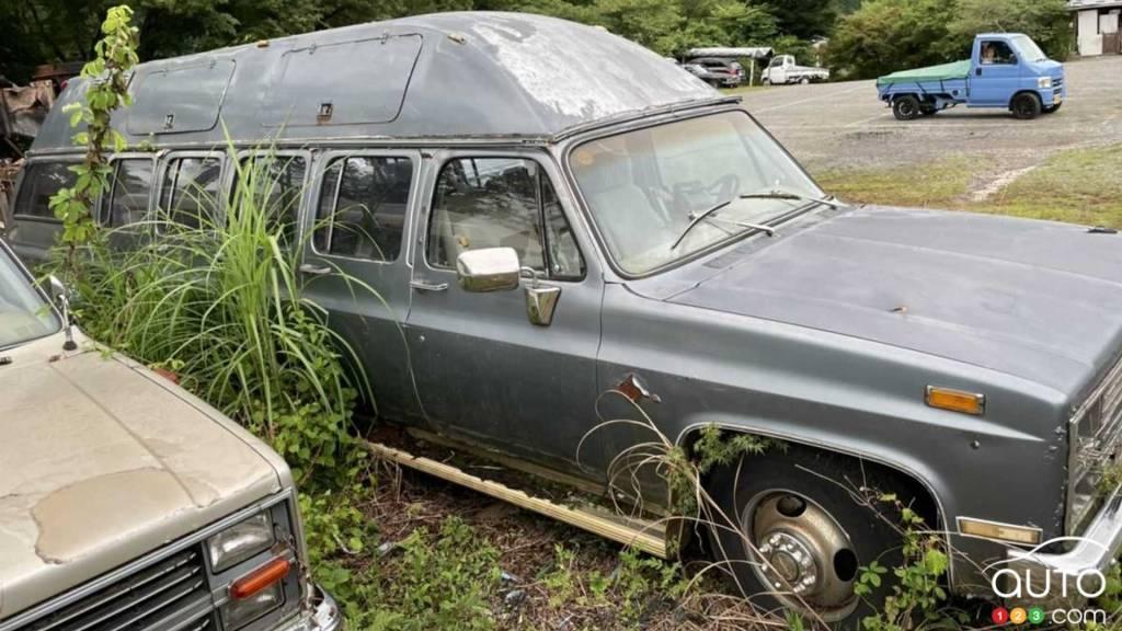 Le Chevrolet Suburban 1987