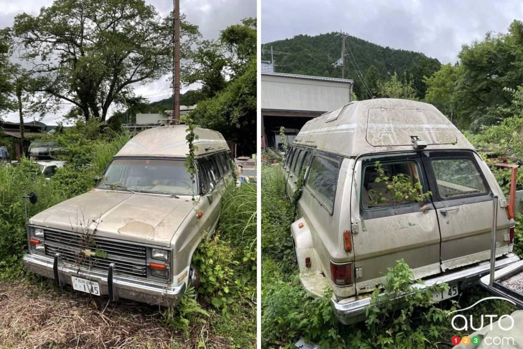 Le Chevrolet Suburban 1983