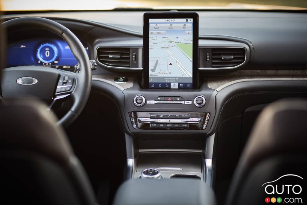 Ford Explorer 2020, intérieur