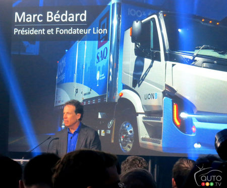 Marc Bédard, founder and president of the Lion Electric Co.