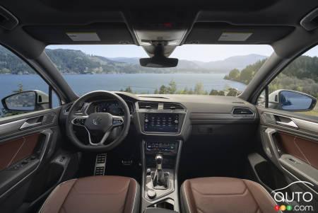 2022 Volkswagen Tiguan, interior