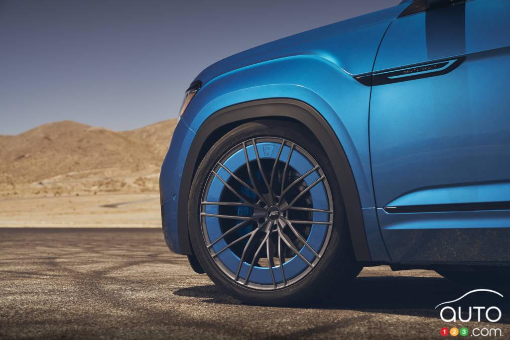 Volkswagen Atlas Cross Sport GT Concept, roue