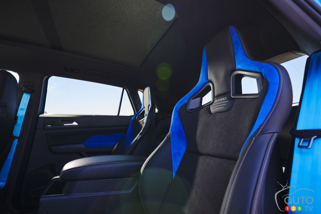 Volkswagen Atlas Cross Sport GT Concept, sièges