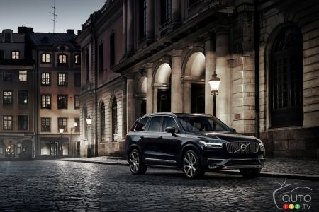 The winner of the 2016 edition, the Volvo XC90