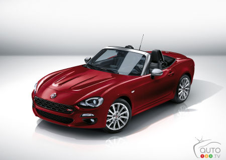 The Fiat 124 Spider Special Anniversary