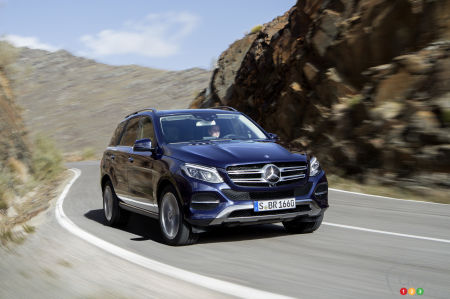 The Mercedes-Benz ML is now called GLE