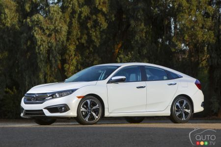 La Honda Civic 2016