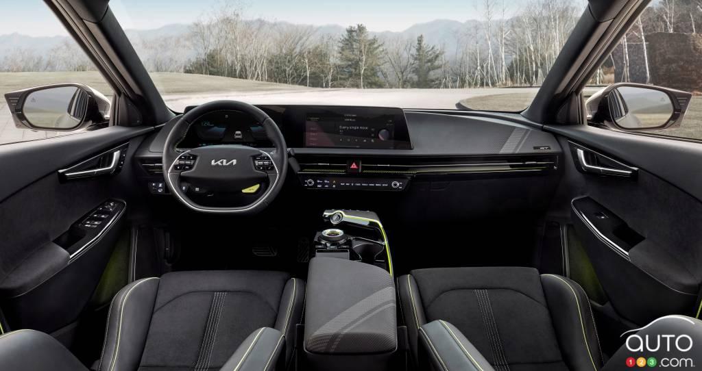 Kia EV6 GT, intérieur