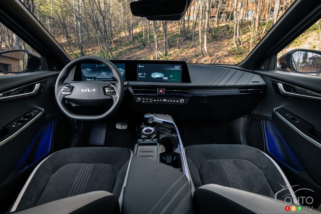 Kia EV6, intérieur