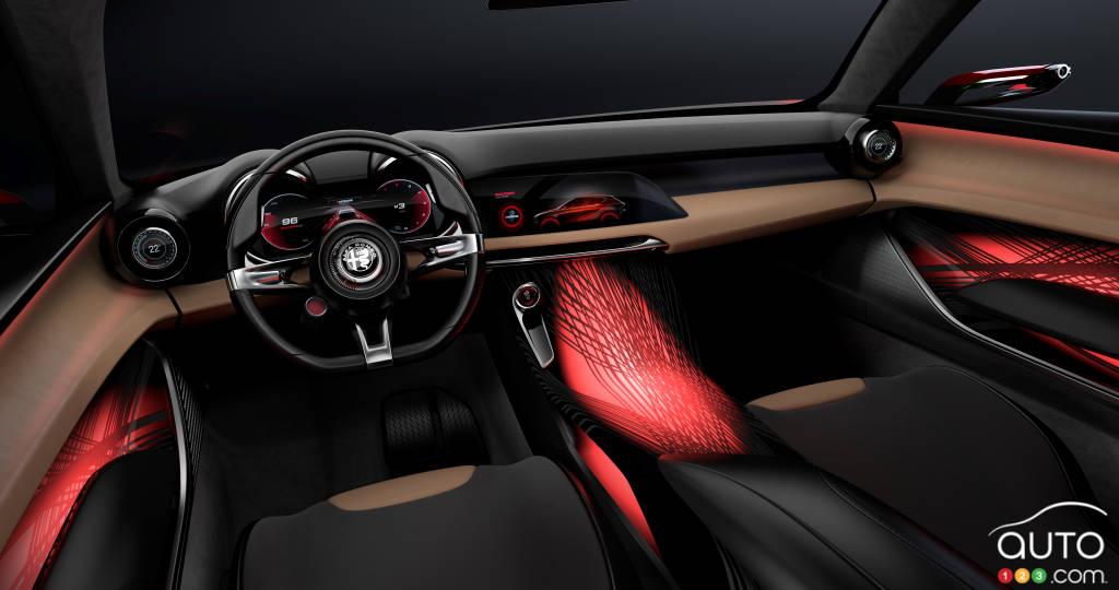 Alfa Romeo Tonale, intérieur