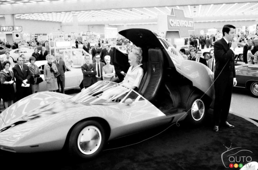 La Chevrolet Astra, au Salon de New York de 1960