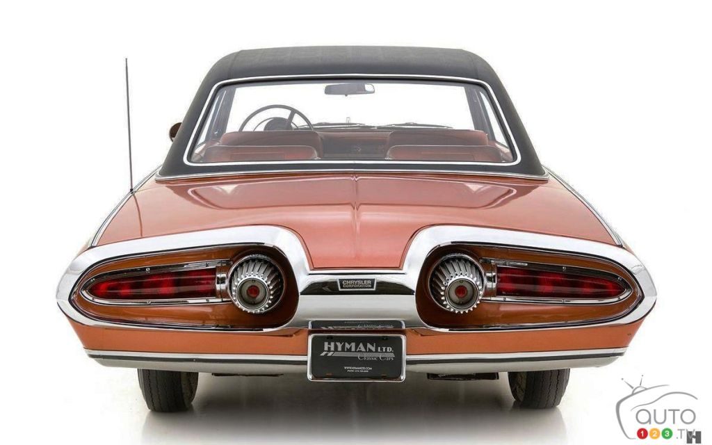 La Chrysler Turbine 1963, arrière