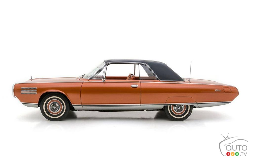 La Chrysler Turbine 1963, profil