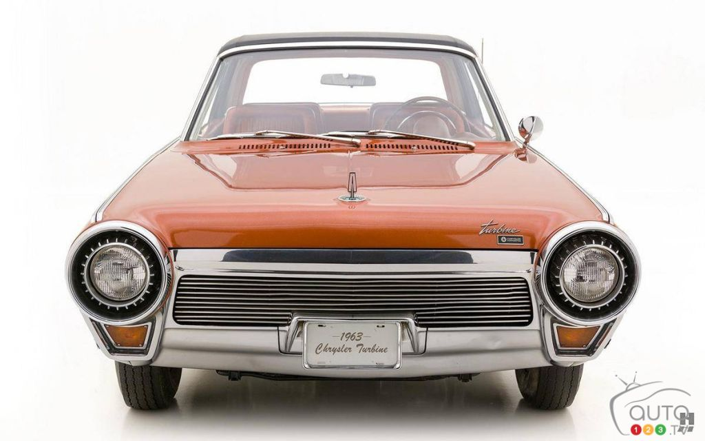La Chrysler Turbine 1963, avant